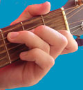 Guitar chord picture of C